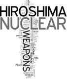 hiroshima kärnvapen Arkivbilder
