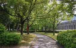 Hiroshima konstmuseum Fotografering för Bildbyråer