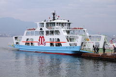 Hiroshima - Miyajima ferry Stock Photo