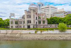 Hiroshima nuclear dome Stock Photo
