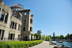 Hiroshima Peace Memorial Stock Images
