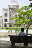 Hiroshima Peace Memorial (Atomic Bomb Dome) Royalty Free Stock Photography