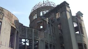 Hiroshima Peace Memorial Atomic Bomb Dome Stock Image