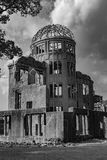 Hiroshima Peace Memorial - Genbaku Dome royalty free stock photos