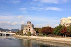 Hiroshima river and city Stock Photo