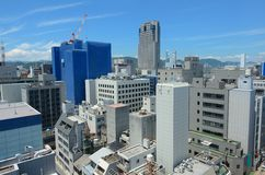 Hiroshima Skyline Royalty Free Stock Photography
