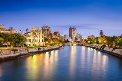 Hiroshima Skyline Royalty Free Stock Photos