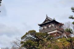 Hiroshima slott Royaltyfria Bilder