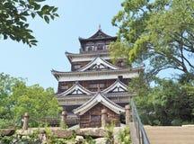 Hiroshima slott Royaltyfria Foton