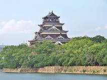 Hiroshima slott i Hiroshima, Japan Royaltyfri Bild