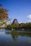Hiroshima slott. Japan Royaltyfri Fotografi