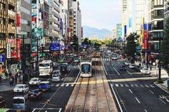 Hiroshima stad, Japan Fotografering för Bildbyråer