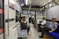 the Hiroshima subway system at japan Stock Photography
