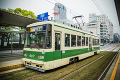 Hiroshima tram Stock Image