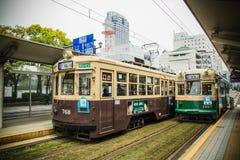 Hiroshima tram Royalty Free Stock Photography