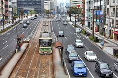 Hiroszima, Japonia Zdjęcia Stock