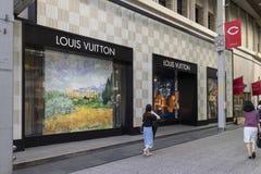 Hiroszima Japonia, Maj, - 23, 2017: Przód moda sklep Lou Obrazy Stock