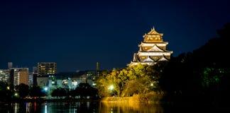 Hiroszima miasta światła odbicie Zdjęcie Stock