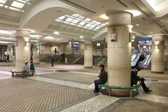 Hiroszima stacja Obrazy Stock