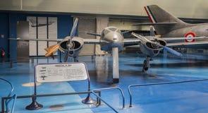 Hirsch H 100 - experimentellt flygplan som byggs i 50-tal till tes Royaltyfri Foto