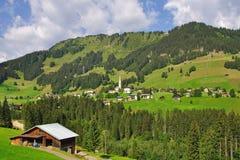 Hirschegg,Kleinwalsertal,Austria Stock Photos