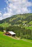 Hirschegg,Kleinwalsertal,Austria Royalty Free Stock Images