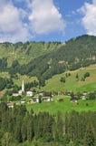 Hirschegg,Kleinwalsertal,Austria Stock Photography