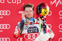 HIRSCHER Marcel Photographie stock