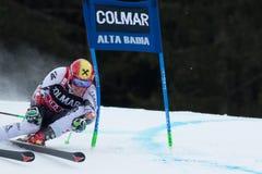 HIRSCHER Marcel (AUT). Alta Badia, ITALY 22 HIRSCHER Marcel (AUT) competing in the Audi FIS Alpine Skiing World Cup MEN'S GIANT SLALOM Stock Photos