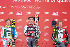 HIRSCHER Marcel - PINTURAULT Alexis - LIGETY Ted Image stock