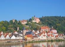 Hirschhorn, River Neckar,Germany Royalty Free Stock Photo