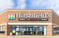 Hirshfield`s Retail Store Exterior Stock Photos