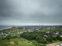 Hirtshals, Denmark. A view of the City `Hirtshals` in Denmark Stock Photos