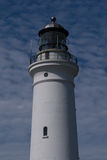 Hirtshals Fyr Lighthouse, Denmark. Hirtshals Lighthouse at the North Sea coast, Denmark Royalty Free Stock Photos