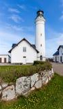 Hirtshals Lighthouse Royalty Free Stock Photography