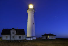 Hirtshals lighthouse Stock Image