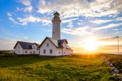 Hirtshals Lighthouse Royalty Free Stock Images