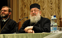His Beatitude Archbishop Lubomyr Husar_7 Stock Images