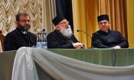 His Beatitude Archbishop Lubomyr Husar_4 Royalty Free Stock Photo