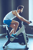 His favorite cardio workout. Stock Images