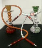 His and hers shisha pipes Stock Photography