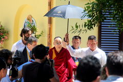 His Holiness the XIV Dalai Lama Tenzin Gyatso Stock Photos