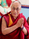 His Holiness the XIV Dalai Lama Tenzin Gyatso Stock Image