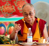 His Holiness the XIV Dalai Lama Tenzin Gyatso Royalty Free Stock Image