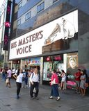 His Masters Voice Stock Images
