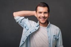 His smile is amazing! Stock Image