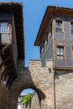 Hisar Kapia - αρχαία πύλη στην παλαιά πόλη Plovdiv, Βουλγαρία Στοκ εικόνα με δικαίωμα ελεύθερης χρήσης