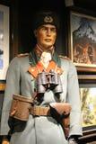 Hisart, eerste van de Wereld en slechts het leven Diorama van het geschiedenismuseum Stock Foto