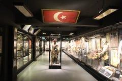 Hisart, eerste van de Wereld en slechts het leven Diorama van het geschiedenismuseum Royalty-vrije Stock Foto's