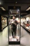 Hisart, eerste van de Wereld en slechts het leven Diorama van het geschiedenismuseum Royalty-vrije Stock Afbeeldingen